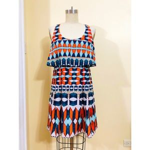 Jessica Simpson Geo Print Dress